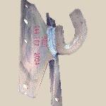 Крюк КШ1 для крепления натяжных и подвесных зажимов