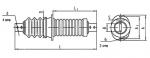 Изолятор проходной ИП-6/400-3,75