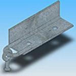 Оголовье ОГ-12 типовая стальная конструкция железобетонных опор