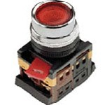 Кнопка ABLF-22 (зеленый неон)