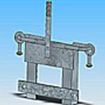 Оголовье ОГ-13 типовая стальная конструкция железобетонных опор