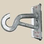 Крюк КБ для крепления натяжных и подвесных зажимов