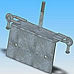 Оголовье ОГ-14 типовая стальная конструкция железобетонных опор