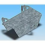 Оголовье ОГ-15 типовая стальная конструкция железобетонных опор