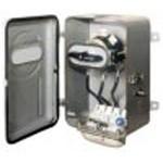 Ящик с рубильником ЯВШ с пакетным выключателем и штепсельным разъёмом