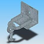 Оголовье ОГ-2 типовая стальная конструкция железобетонных опор