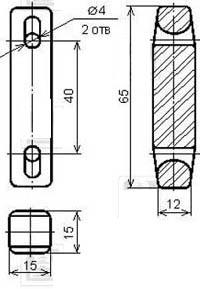 Изолятор низковольтный 3996