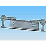 Оголовье ОГ-8 типовая стальная конструкция железобетонных опор