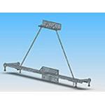 Траверса ТМ-14 стальная конструкция железобетонных опор