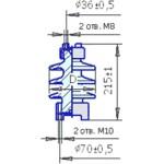 Изолятор опорный С4-80-II-М