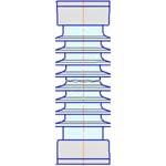 Изолятор опорный ОСК-10-150-В-4