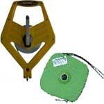 Рулетка РИМ-10 стальная крашеная лента в закрытом корпусе
