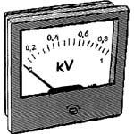 Миллиамперметр ЭА3002К щитовой аналоговый постоянного тока