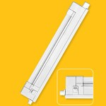 Быт/пром.: под прямые люминисцентные лампы NEL-A1