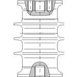 Изолятор опорный ИОСК-10-8