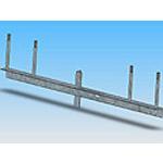 Траверса ТМ-10 стальная конструкция железобетонных опор