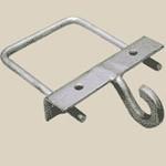 Крюк КХ для крепления натяжных и подвесных зажимов