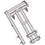 Траверса ТМ-23 стальная конструкция железобетонных опор
