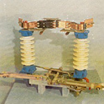 Разъединитель РДЗ-2-150-II/2000 высоковольтный наружной установки