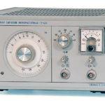 Генератор сигналов низкочастотный ГЗ-120