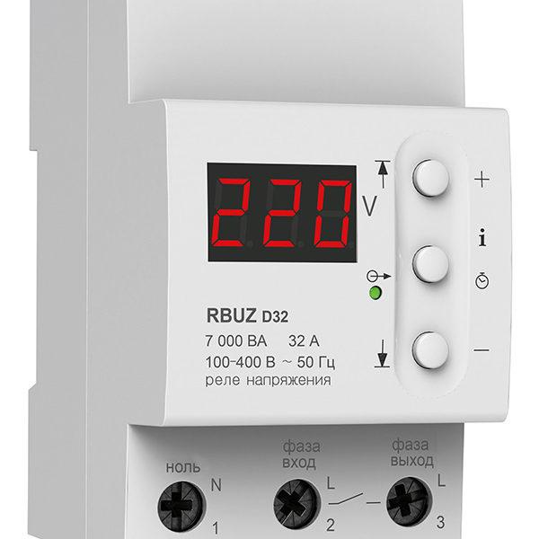 Реле контроля напряжения RBUZ D32