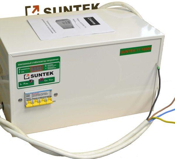 Тиристорный стабилизатор напряжения 12000 ВА