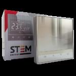 Терморегулятор STEM Energy SET 17 SILVER (программируемый, сенсорный)