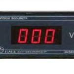 Цифровой амперметр постоянного тока Ш4560/2Ц