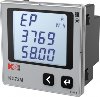КС72М — Многофункциональный прибор (лицевая панель 72х72 мм)