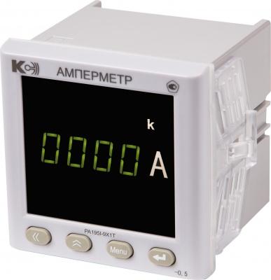 PA195I Амперметр одноканальный (лицевая панель 96х96 мм)