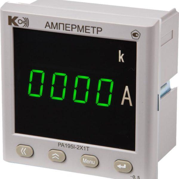 PA195I Амперметр одноканальный (лицевая панель 120х120 мм)