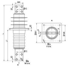Изолятор полимерный ИПП-10/630-7.5