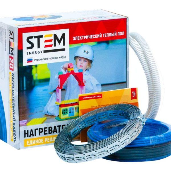 Нагревательный кабель STEM Energy 1000/20