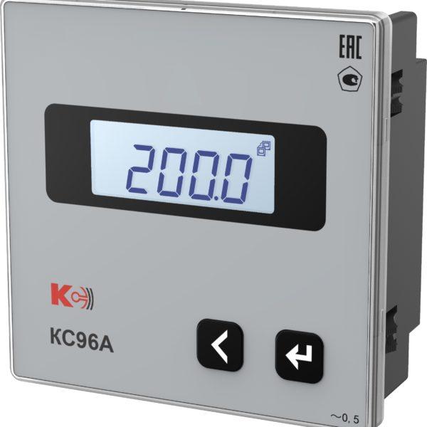 КС96А — Амперметр одноканальный (лицевая панель 96х96 мм)