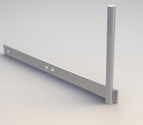 Кронштейн РА-4 для присоединения неизолированного провода
