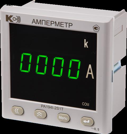 Одноканальный амперметр PA194I-2S1T