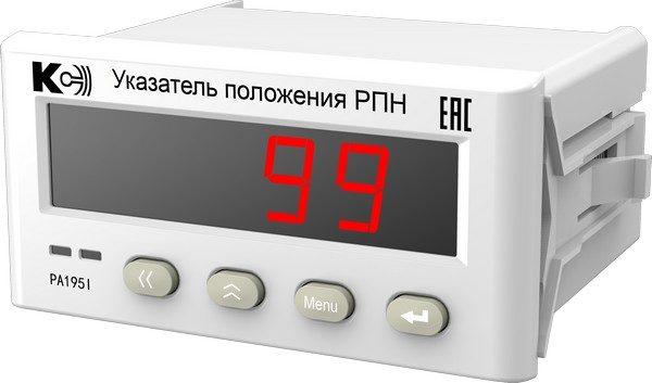 PA195I Указатели положения РПН силовых трансформаторов (лицевая панель 96х48 мм)