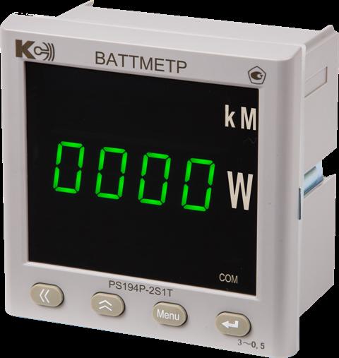 PS194P-2K1T Ваттметр (1 порт RS-485, 1 аналоговый выход)