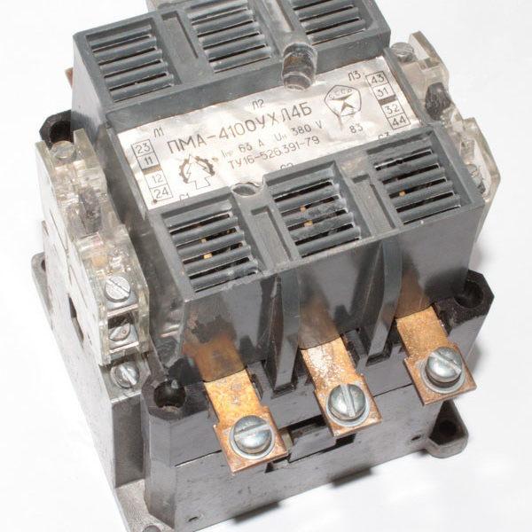 Пускатель магнитный ПМА-4100